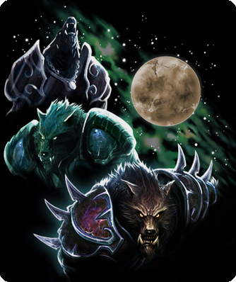 Three Worgen